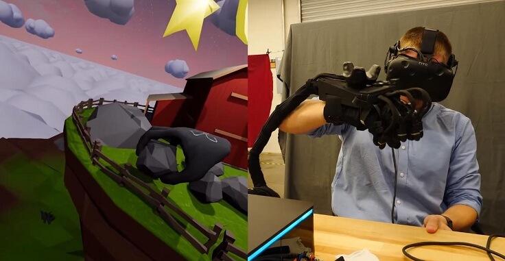 Перчатки для погружения в виртуальную реальность