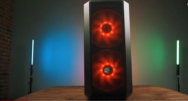 начнём с корпуса, это крутой Cooler Master H500