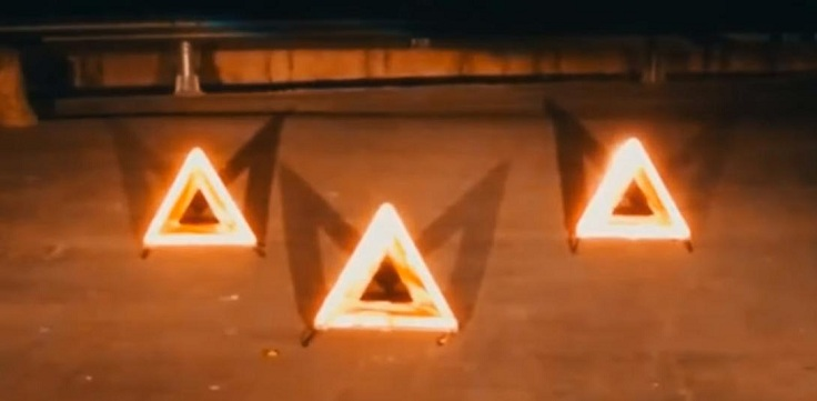 LED аварийный знак