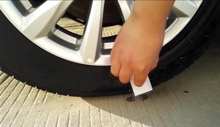 Чернитель для шин