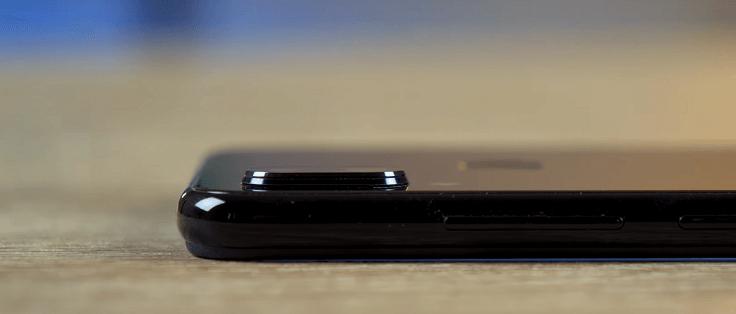 дуэт из двух камер и сенсор отпечатка пальца