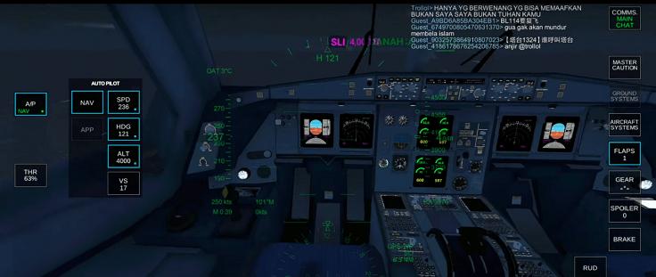 Большое количество опций для создания планов и условий полета