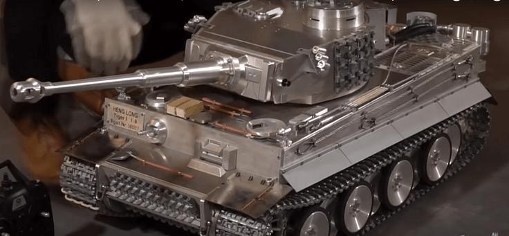 Это точная копия немецкого танка тигр