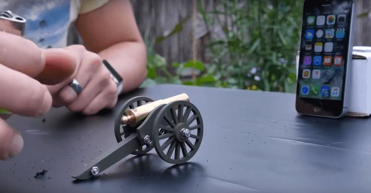 Миниатюрная пушка