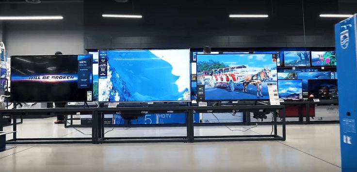 Сегодня толщина, даже самого бюджетного телевизора, редко превышает пять сантиметров