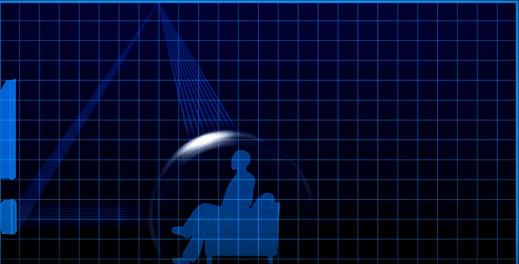 Отраженный от стен комнаты сигнал создавал иллюзию объемного звучания