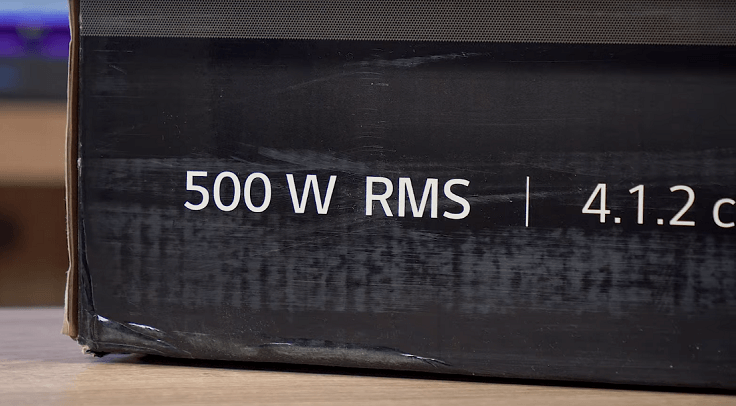 Поэтому надписям «500 Вт» на коробке особо верить не стоит