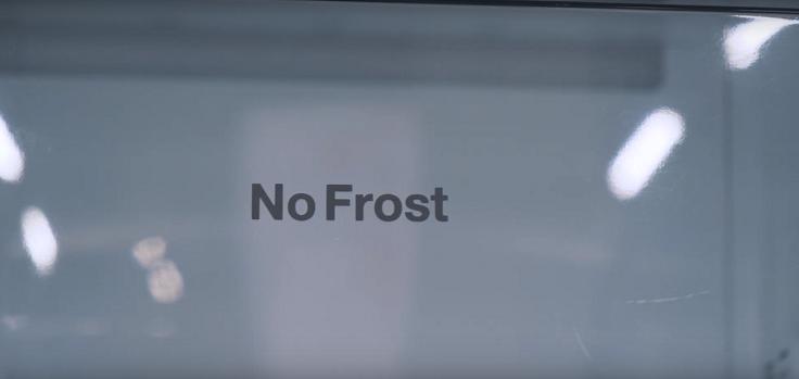 Не обошлось и без системы No Frost