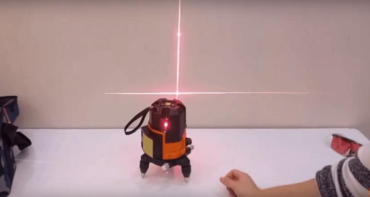 Лазерный уровень 360 градусов