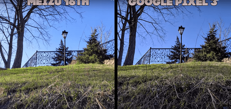 Meizu тащит аппаратный модуль, а Pixel использует гугловские алгоритмы