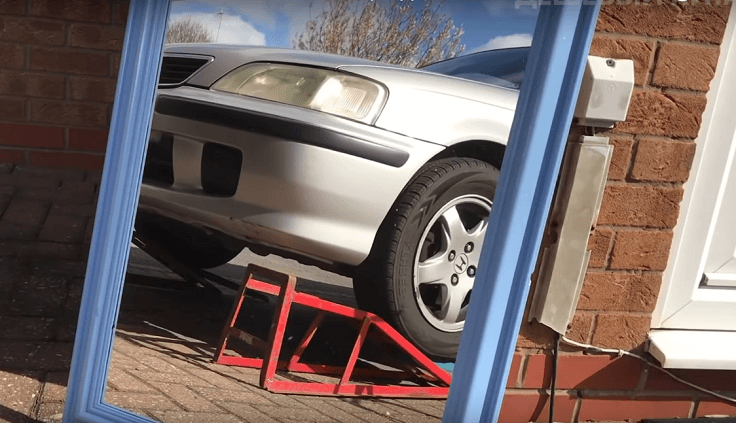 Рампа подъемник для обслуживания авто с низу