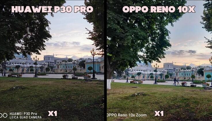 Huawei P30 Pro неожиданно показал менее проработанную картинку в тенях