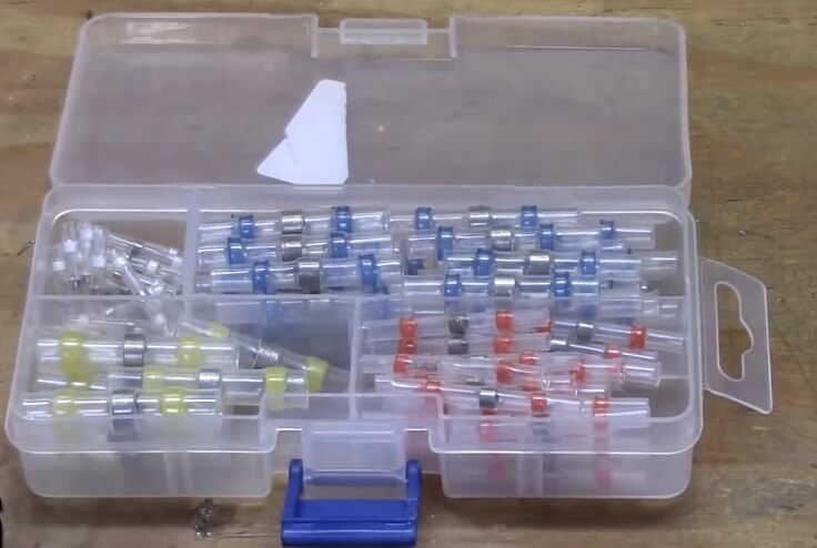 Термоусадочные трубки с припоем