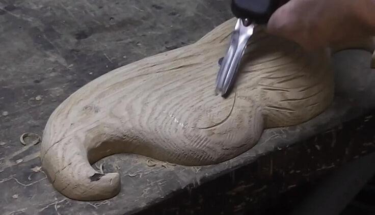 Насадка для работы с деревом