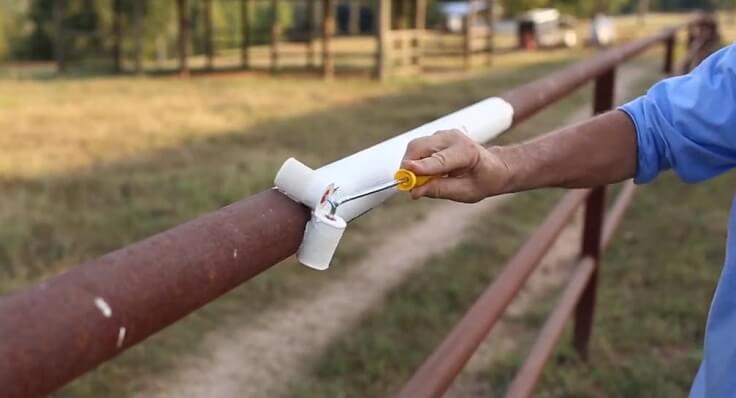 Шикарный валик для покраски труб