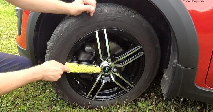 Щётка для мытья колёс