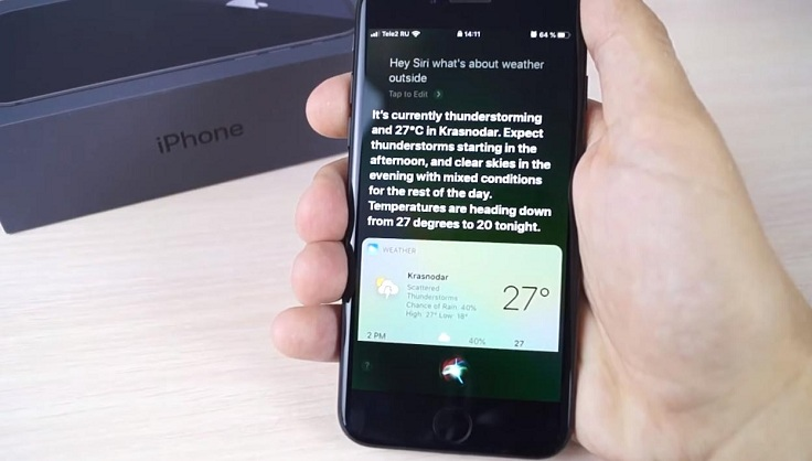 В любом случае, почему бы не сделать iOS модульной? Нужна сири - докачай