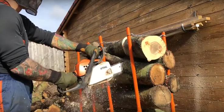 Bulk Log Stand