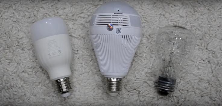 Несколько лампочек могут заменить целый комплект видеонаблюдения
