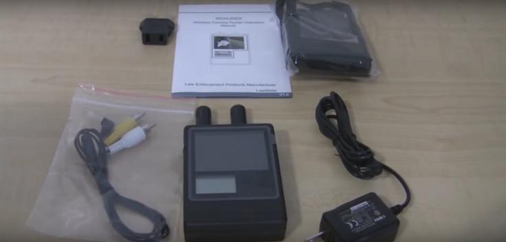 Устройство поиска Wi-Fi камер и перехвата изображения