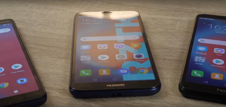 Посмотрим, как с углами обзора,у Huawei Y5 белый становится серым