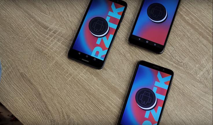 Три модели работают на версии Android 8.1.