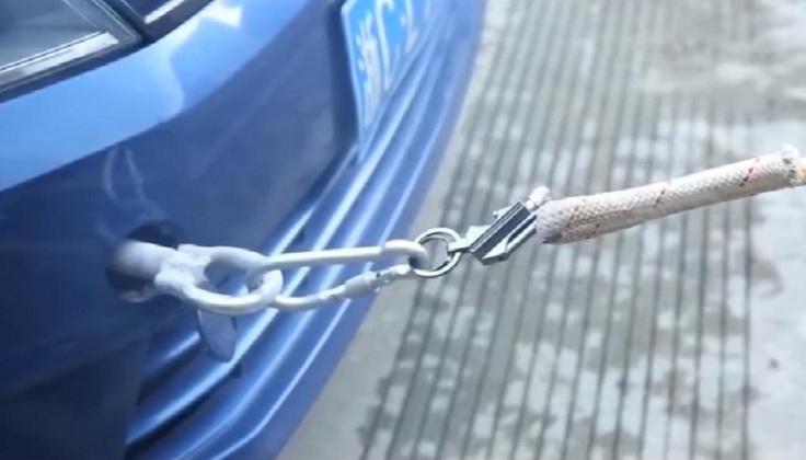 С ее помощью вы сможете подтянуть даже автомобиль