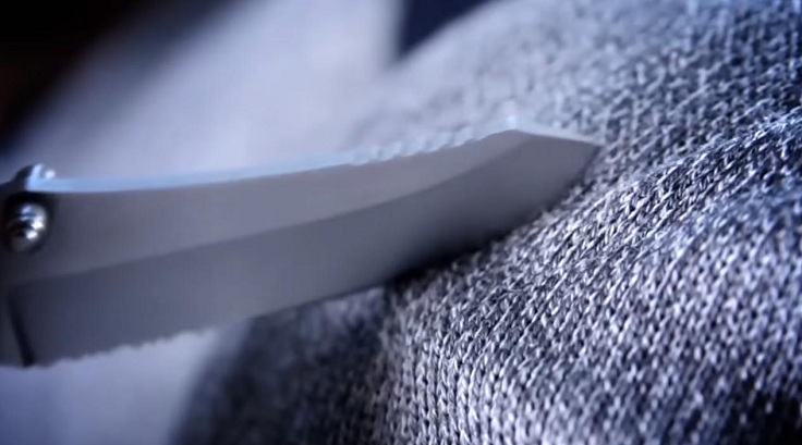 Вшиты детали, которые не дают прорезать ткань и повредить вашу кожу