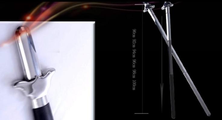 Телескопическая дубина в виде меча
