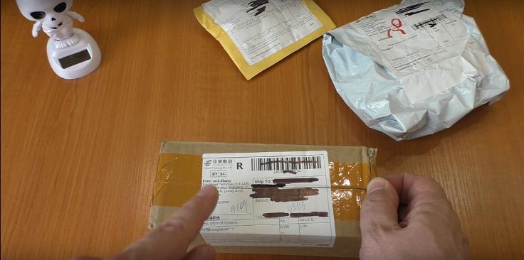 Товар упакован в картонную почтовую коробку