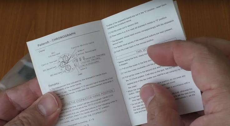 Большущая инструкция на английском языке, без китайщины
