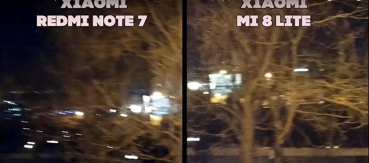 Оба устройства не годятся для ночной видео съемки
