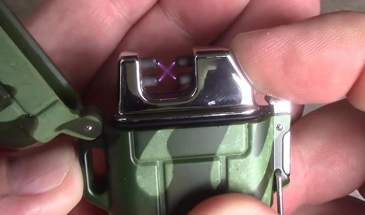 Водонепроницаемая USB зажигалка