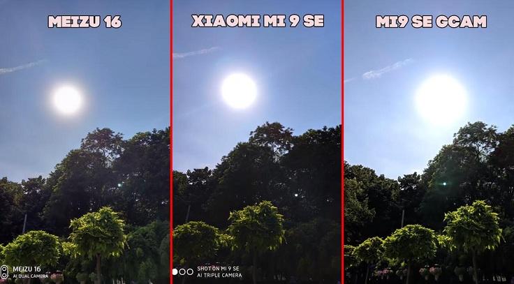 Xiaomi Mi 9 SE, снимает контровой немного хуже, чем Meizu 16
