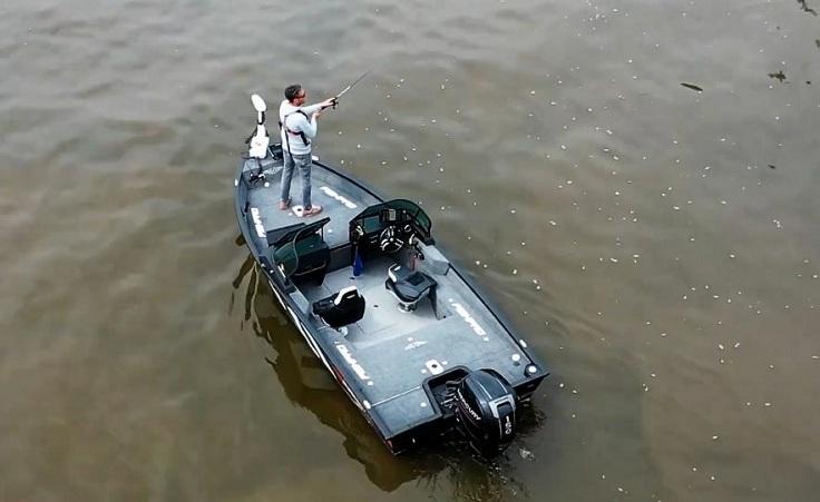 У нас была возможность использовать лодку в тяжелых условиях