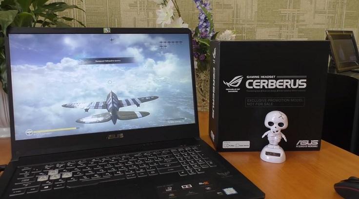 Наушники «Cerberus» мне досталась при покупке ноутбука в качестве подарка