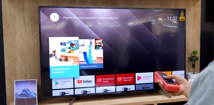 Начну по порядку - с Андроид ТВ на SONY.