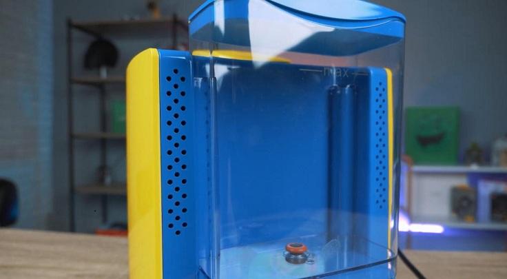 Резервуар для воды прозрачный, без мерной шкалы