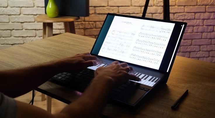 Касания распознаются отлично, можно даже играть на пианино в две руки
