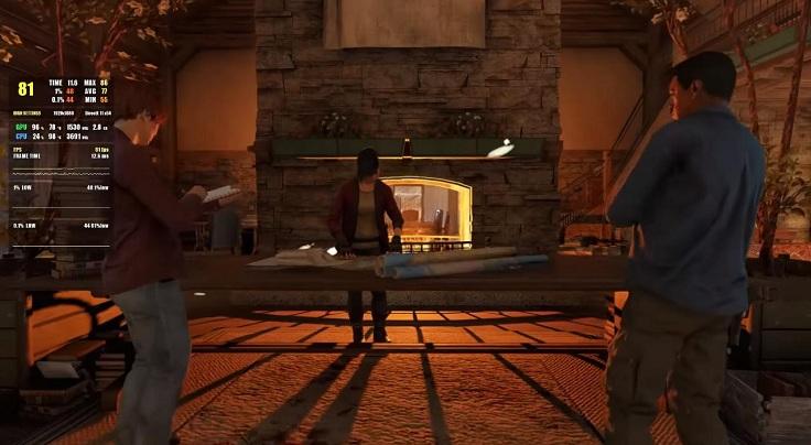 Far Cry New Down с высокими настройками графики показывает 80 кадров