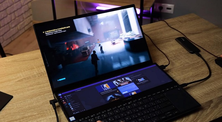 В целом, этот ноутбук всё-таки для работы.