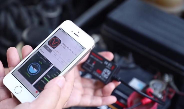 Bluetooth тестер аккумулятора