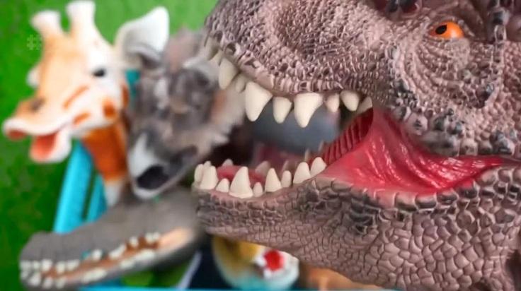 Голова акулы или динозавра для клешни