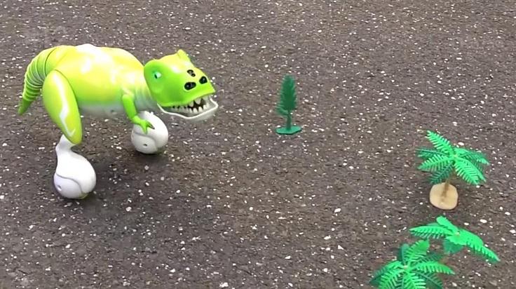 Умная робо-рептилия