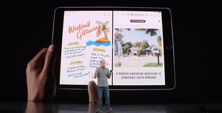 В бюджетник интегрированы все самые топовые функции iPadOS