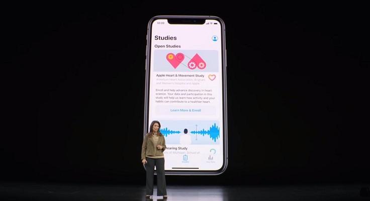 Apple попутно работает со всемирной организацией здравоохранения