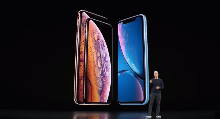 В прошлом году Apple запустила 3 новых iPhone