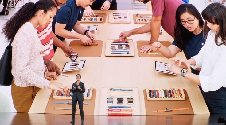 В США открывается новая Apple Watch Студия