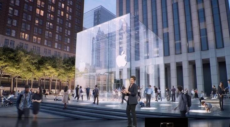 Apple проапгрэйдила самый большой Apple Store на 5й авеню в Нью Йорке