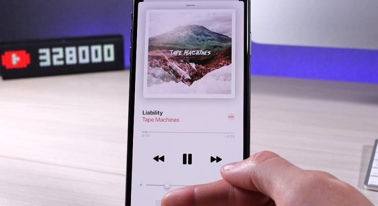 Те кто подписан на сервис Apple Music смогут просмотреть тексты песен